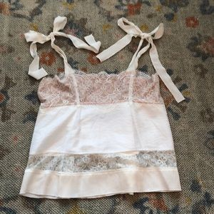 For Love & Lemons lace tank small
